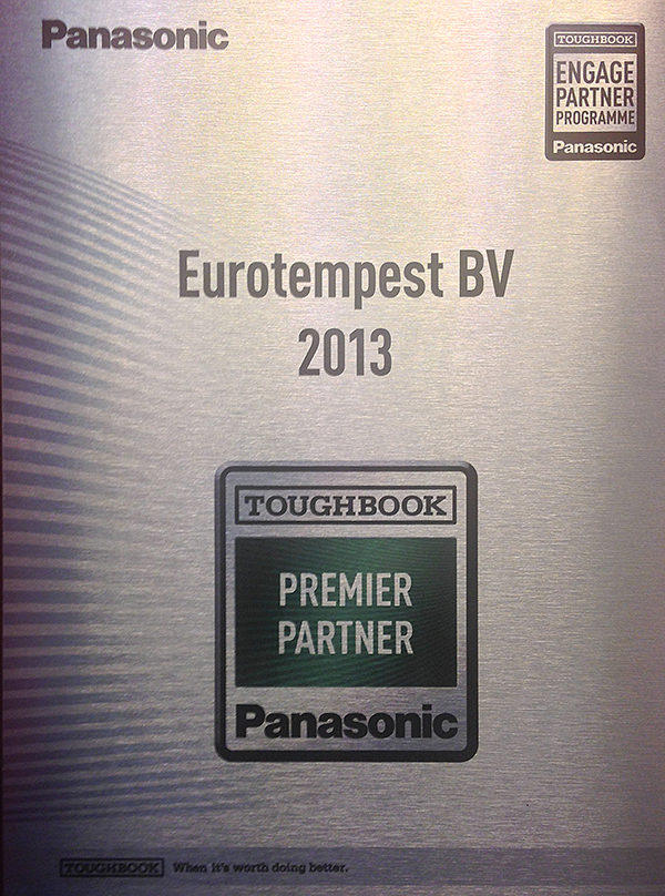 Eurotempest Panasonic Premium Partner for TEMPEST